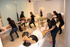 Aprender maderoterapia en centro de estética